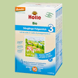 HOLLE Bio Säuglings Folgemilch 3